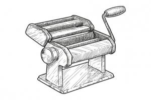 Getreide - Pasta - Pastamaschine