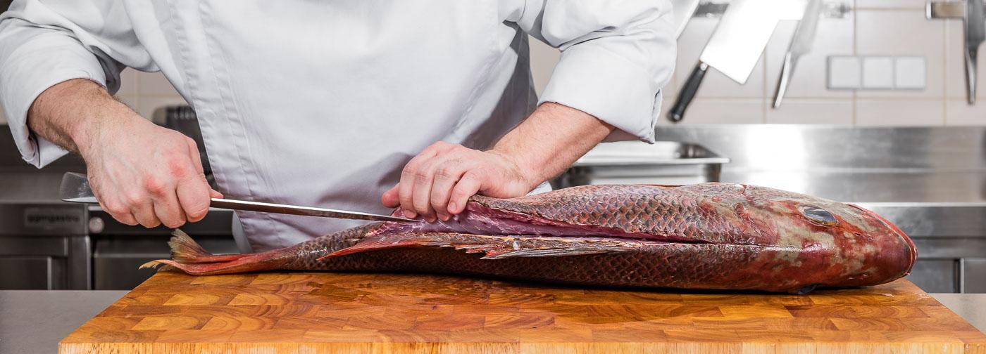 Kitchen Skills / Fisch / Meeresfische