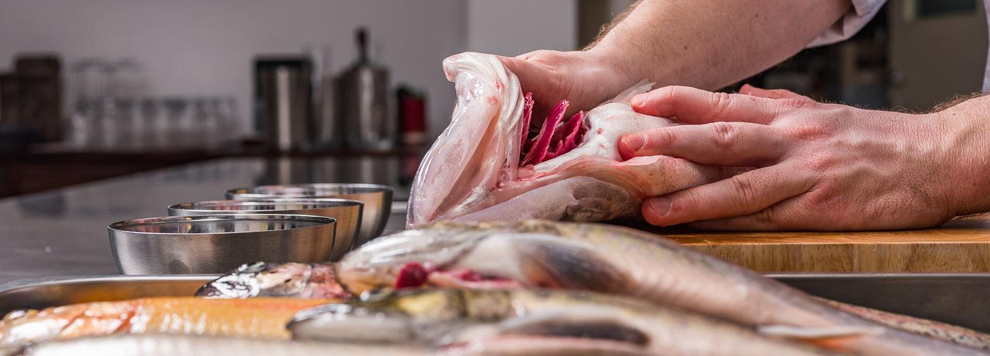 Kitchen Skills / Fisch / Regionale Fische